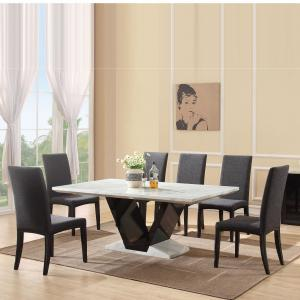 White marble top dining table Manufacturers in Delhi