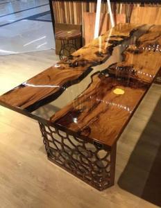 Epoxy Dining Table best design Manufacturers in Delhi