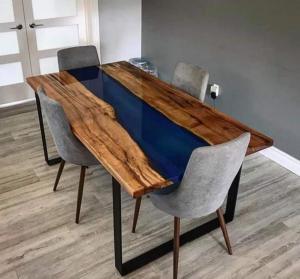 Amazing Epoxy Dining Table