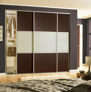Trlife Sliding Door Closet Bed Room Wardrobe