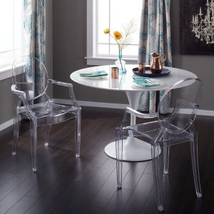 OLWIN Classy Acrylic Dining Table Set Manufacturers in Delhi