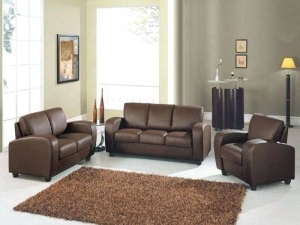Light Brown Leather Sofa Manufacturers in Delhi