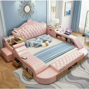 Smart bed with Taj  headrest Manufacturers in Delhi