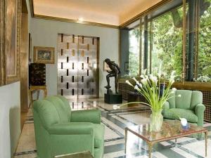 Italian interior style villa in Delhi