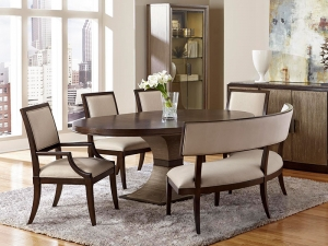 Ives Oval Extendable Dining Table Manufacturers in Delhi