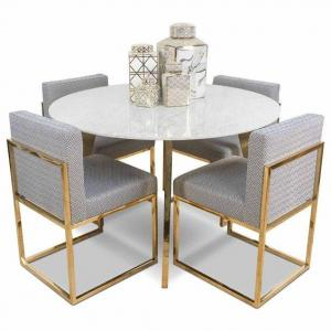 Metal small round dining table Manufacturers in Delhi