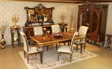 6 seatar luxury Dining Room Table Manufacturers in Ambala