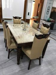 6 seater Onyx Dining Table Manufacturers in Alwar