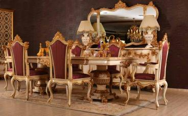 8 seater Ultra luxury dining table Manufacturers in Agra