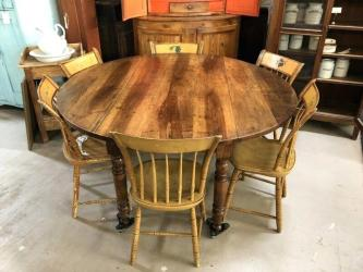 Antique Walnut Drop Leaf Dining Table Manufacturers in Indore
