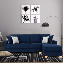 Blue Sofa Set for Living and Dining Hall Manufacturers in Durgapur