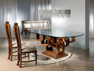 Carpanelli Glamour King Glass Dining Table Manufacturers in Surat