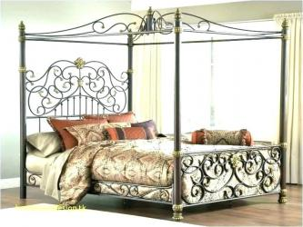 Cast Iron Queen Size Bed in Delhi