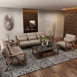 Classic Wooden Sofa Set new design Manufacturers in Amaravati