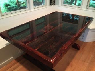 Clear Epoxy Resin Dining Table Manufacturers in Gurgaon