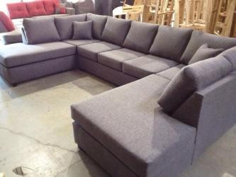 Double Chaise U-Shape Sectional sofa Manufacturers in Agra