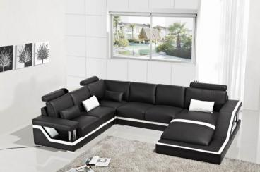 European Style U Shape High Quality Sofa Set Furniture Manufacturers in Surat