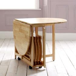 Folding dining table 4 seater Manufacturers in Aligarh