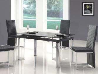Gray Dining With Exotic Gray Dining Room Designed With Black Glass Dining Table Manufacturers in Faridabad