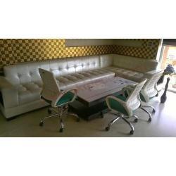 L Shape Wooden Sofa Manufacturers in Cuttack