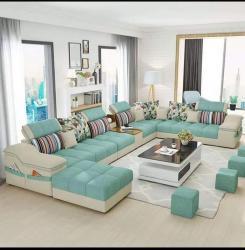 Latest modern design u shape sofa set Manufacturers in Amravati