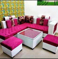 Living Room Wooden Sofa Set Manufacturers in Guwahati