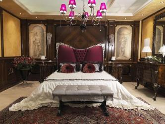 Luxury Bed With Upholstered Headboard Manufacturers in Chandigarh