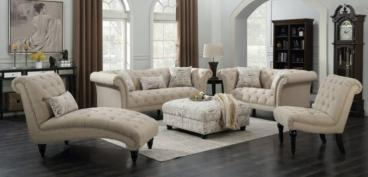 Luxury Chester sofa set with lounger chair Manufacturers in Durgapur