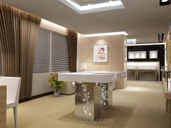 Luxury jewelry store interior design Manufacturers in Chennai
