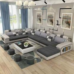Luxury living room sofa set in Delhi