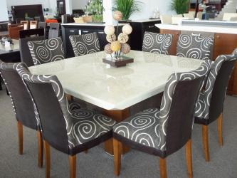 Marble Dining Table For 8 Capri in Delhi