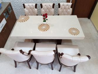Marble dining table 6 Seatar Manufacturers in Agra