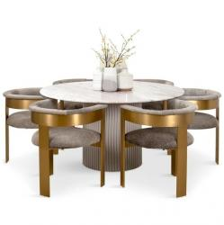 Mattel Round Dining Table 4 Seatar Manufacturers in Anantapur