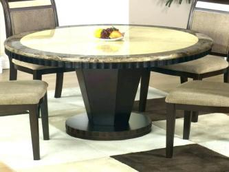 Medium Size Of Round Granite Dining Table Set in Delhi