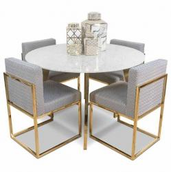Metal small round dining table Manufacturers in Akola