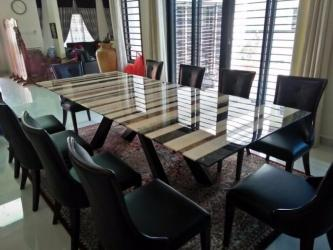 Modern Classic Marble Dining Table Manufacturers in Ahmedabad