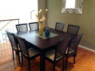 Modern Square Dining Room Table Manufacturers in Ghaziabad