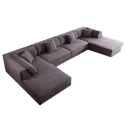 Modern U Shape Sofa for livinf Manufacturers in Ambala