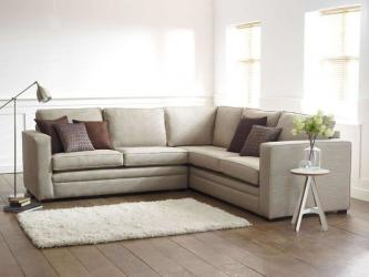 Modern White L-shaped Sofa Manufacturers in Assam