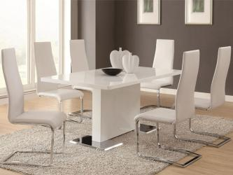 Modern dining 7 piece table and chair set Manufacturers in Jalandhar