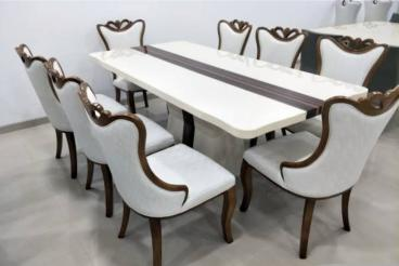 Modern dining table 8 seater Manufacturers in Ahmedabad