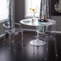 OLWIN Classy Acrylic Dining Table Set Manufacturers in Greater Noida