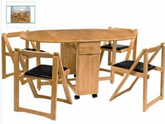 Oval type folding dining table 4 Seatar Manufacturers in Aligarh