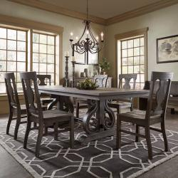 Rowyn Wood Extendable Dining Table Set Manufacturers in Ahmedabad