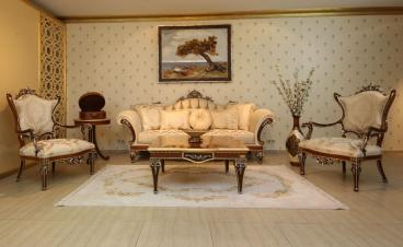 Royal classic sofa set Manufacturers in East Delhi