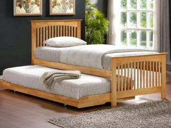Solid wood trundle bed Manufacturers in Ahmedabad