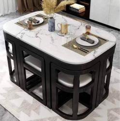 Space saving 6 seater dining table Manufacturers in Aligarh