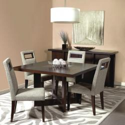 Square Teak wood dining table Manufacturers in Agra