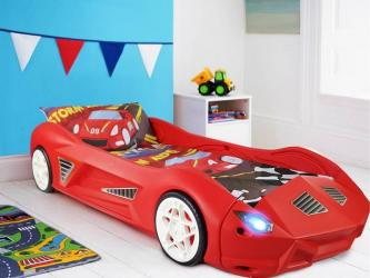 Storm Kids Toddler Racing Car Bed Manufacturers in Karnal