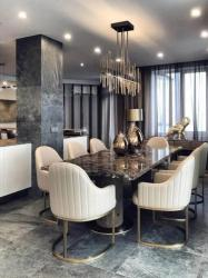 Stylish 8 Seatar metal Design Dining Table Manufacturers in Akola